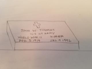3H1 grave marker image