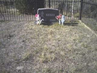 Addison and Mary Tate grave marker image