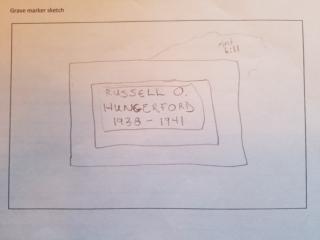 6Q11 grave marker image