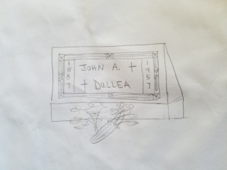 Section 6: John A. Dullea grave marker image