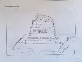 Anna Marguerite Fenner grave marker image