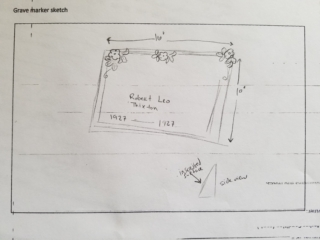 Robert Leo Thixton grave marker image