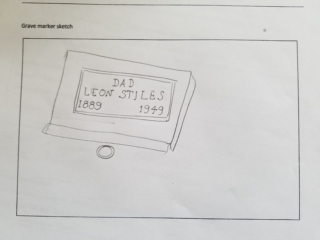 Leon Stiles grave marker image