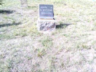 Joseph Whitehead grave marker image