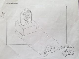 Girtrude Bottcher grave marker image