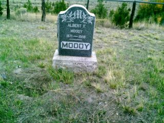 Albert F Moody grave marker image