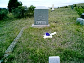 Anna H. Avare grave marker image